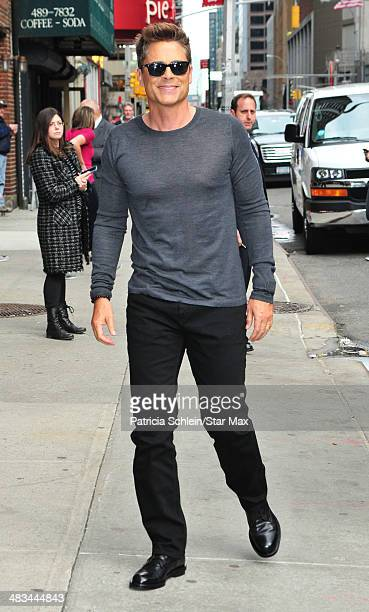 Actor Rob Lowe is seen on April 8 2014 in New York City