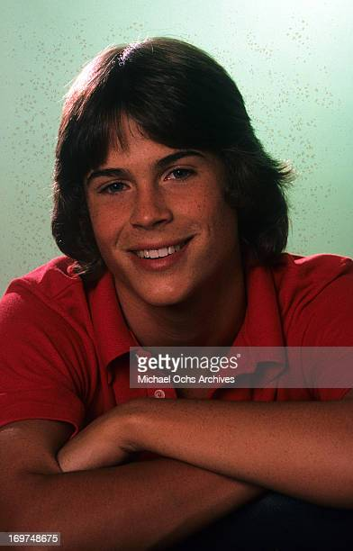 Actor Rob Lowe poses for a portrait in circa 1983