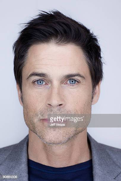 Actor Rob Lowe poses for a portrait session at the 2009 Toronto Film Festival on September 14 2009