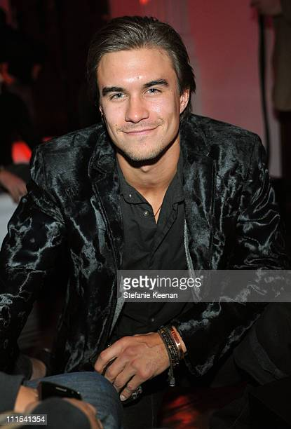 """Actor Rob Mays attends the grand opening of """"Pandora"""" at Vibiana on October 27, 2009 in Los Angeles, California."""