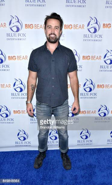"""Actor Rob McElhenney attends the premier of Blue Fox Entertainment's """"Big Bear"""" at The London Hotel on September 19, 2017 in West Hollywood,..."""