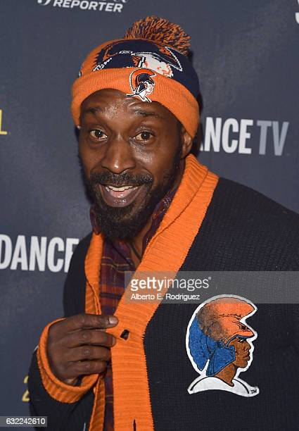 Actor Rob Morgan attends The Hollywood Reporter and Sundance TV 2017 Sundance Film Festival Official Kickoff Party Park City 2017 at Sundance TV HQ...