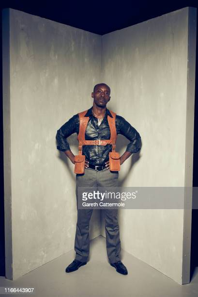 Actor Rob Morgan from the film 'Just Mercy' poses for a portrait during the 2019 Toronto International Film Festival at Intercontinental Hotel on...