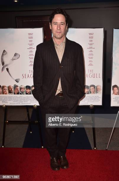 """Actor Rob Morrow attends the premiere of Sony Pictures Classics' """"The Seagull"""" at The Writers Guild Theater on May 1, 2018 in Beverly Hills,..."""