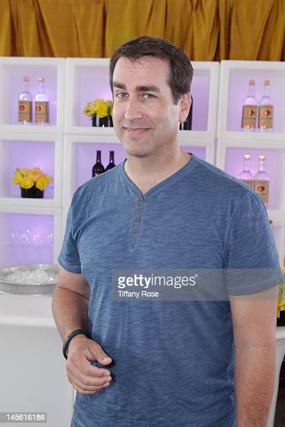 Actor Rob Riggle attends GBK Gift Lounge In Honor of The MTV Movie Award Nominees And Presenters Day 2 at L'Ermitage Beverly Hills Hotel on June 2...