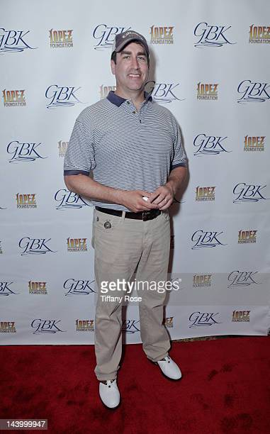 Actor Rob Riggle attends GBK's Gift Lounge At George Lopez Celebrity Golf Classic at Lakeside Country Club on May 7 2012 in Toluca Lake California