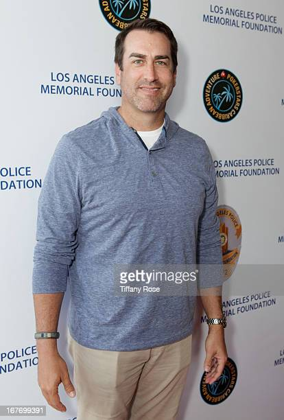 Actor Rob Riggle attends Los Angeles Police Memorial Foundation's Celebrity Poker Tournament at Saban Theatre on April 27 2013 in Beverly Hills...