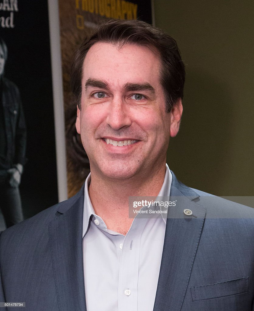 Actor Rob Riggle hosts a luncheon for Iraq and Afghanistan Veterans of America at Annenberg Skylight Studios on December 15, 2015 in Los Angeles, California. (Photo by Vincent Sandoval/Getty Images) at Annenberg Skylight Studios on December 15, 2015 in Los Angeles, California.