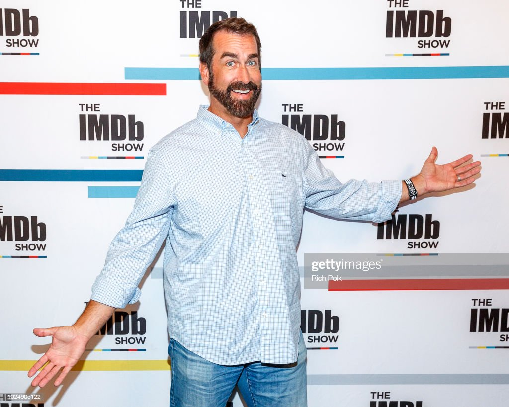 Actor Rob Riggle visits 'The IMDb Show' on August 21, 2018 in Studio