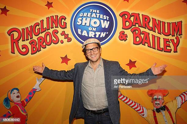 Actor Rob Schneider arrives at Ringling Bros. And Barnum & Bailey Presents Circus XTREME VIP Celebrity Premiere at Staples Center on July 13, 2015 in...