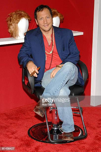 Actor Rob Schneider attends Columbia Pictures' screening of You Don't Mess With The Zohan on June 4 2008 at the Ziegfeld Theater in New York City