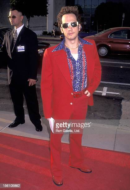 Actor Rob Schneider attends the 'Money Talks' Hollywood Premiere on August 19 1997 at Pacific's Cinerama Dome in Hollywood California