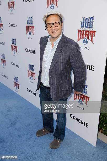 Actor Rob Schneider attends the world premiere of Crackle's Joe Dirt 2 Beautiful Loser at Sony Pictures Studios on Wednesday June 24 2015 in Culver...