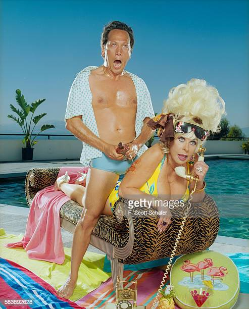 Actor Rob Schneider is photographed for Stuff Magazine in 2005 in Los Angeles California