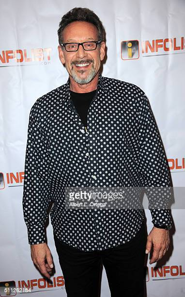 Actor Rob Steinberg arrives for the InfoList PreOscar Soiree And Birthday Party for Jeff Gund held at OHM Nightclub on February 18 2016 in Hollywood...