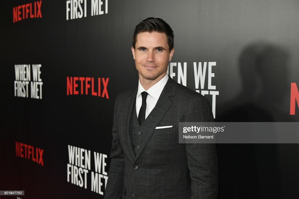 Actor Robbie Amell attends Special Screening Of Netflix Original Film' 'When We First Met' at ArcLight Theaters at ArcLight Hollywood on February 20, 2018 in Hollywood, California.