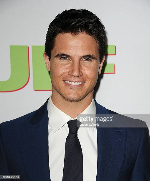 Actor Robbie Amell attends the premiere of The Duff at TCL Chinese 6 Theatres on February 12 2015 in Hollywood California