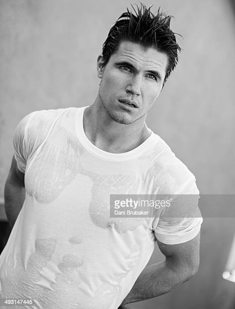 Actor Robbie Amell is photographed for Self Assignment on June 26 2013 in Los Angeles California