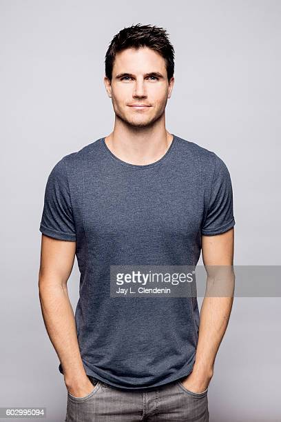 Actor Robbie Amell of the movie ARQ' poses for a portraits at the Toronto International Film Festival for Los Angeles Times on September 9 2016 in...