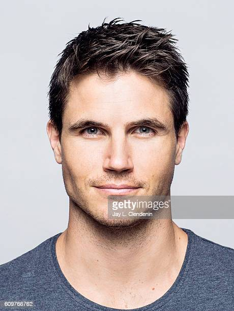 Actor Robbie Amell of the movie0' ARQ' poses for a portraits at the Toronto International Film Festival for Los Angeles Times on September 9 2016 in...