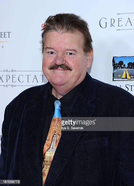 Actor Robbie Coltrane attends the New York premiere of Charles Dickens' Great Expectations at AMC Loews Lincoln Square 13 theater on November 5 2013...