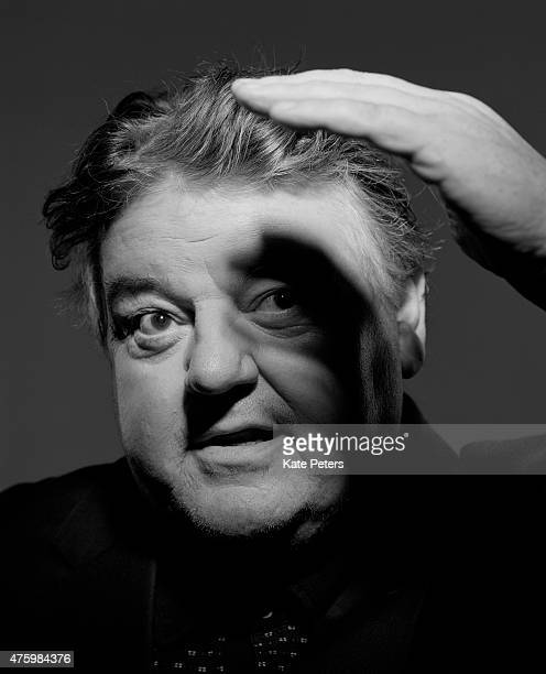 Actor Robbie Coltrane is photographed for the Guardian on November 1 2012 in London England