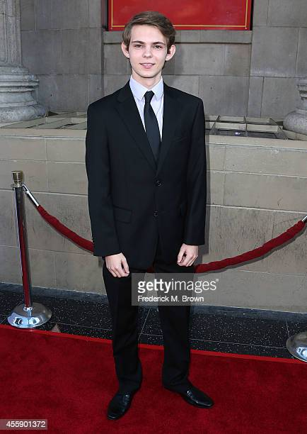Actor Robbie Kay attends the Screening of ABC's 'Once Upon A Time' Season 4 at the El Capitan Theatre on September 21 2014 in Hollywood California