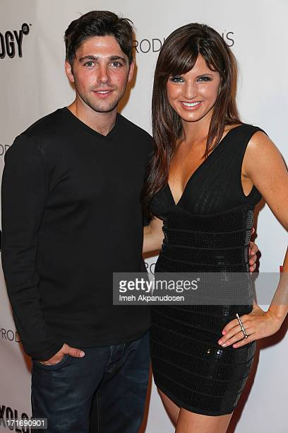 Actor Robert Adamson and actress Rachele Brooke Smith attend the premiere of 'Pop Star' at Mixology101 Planet Dailies on June 27 2013 in Los Angeles...