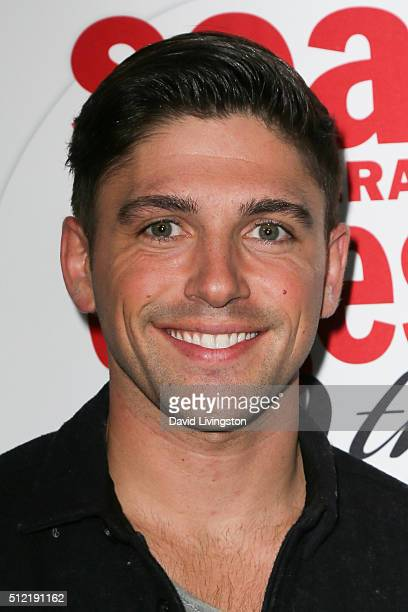 Actor Robert Adamson arrives at the 40th Anniversary of the Soap Opera Digest at The Argyle on February 24 2016 in Hollywood California