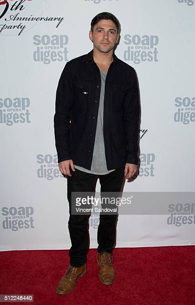 Actor Robert Adamson attends Soap Opera Digest Celebrates 40th Anniversary at The Argyle on February 24 2016 in Hollywood California