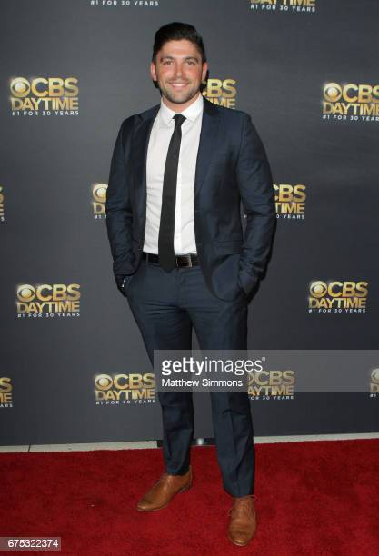 Actor Robert Adamson attends the CBS Daytime Emmy after party at Pasadena Civic Auditorium on April 30 2017 in Pasadena California