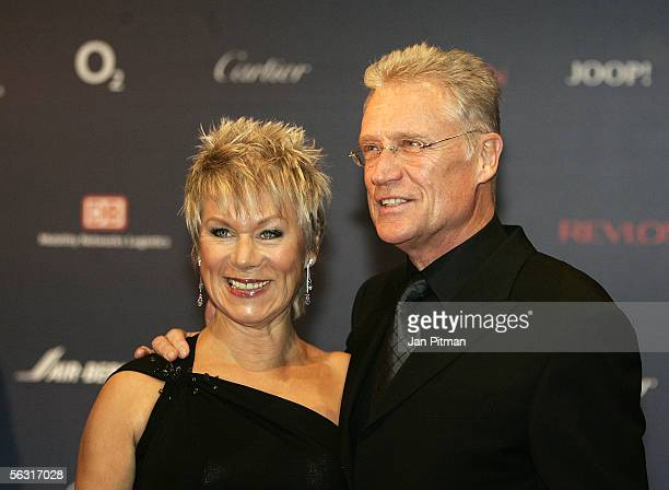Actor Robert Atzorn and his wife Angelika arrive for the 57th annual Bambi Awards at the International Congress Center on December 1 2005 in Munich...