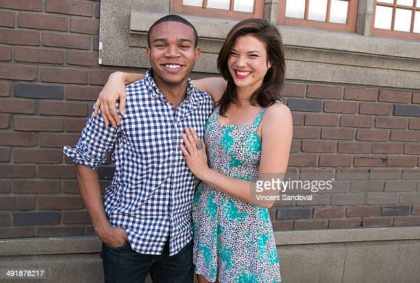 Actor Robert Bailey Jr and actress Jeananne Goossen attend The Game Hosts Bresee Foundation 9th Annual Youth Film Festival on Social Justice at Fox...
