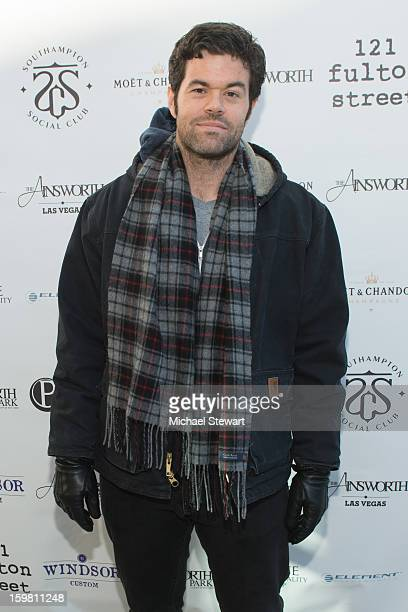 Actor Robert Baker attends Paige Hospitality Game Watch at Sky Bar on January 20 2013 in Park City Utah