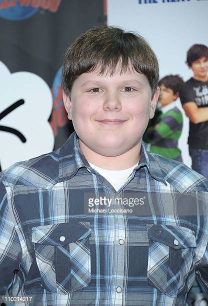 Actor Robert Capron attends the Planet Hollywood Times Square on March 16 2011 in New York City