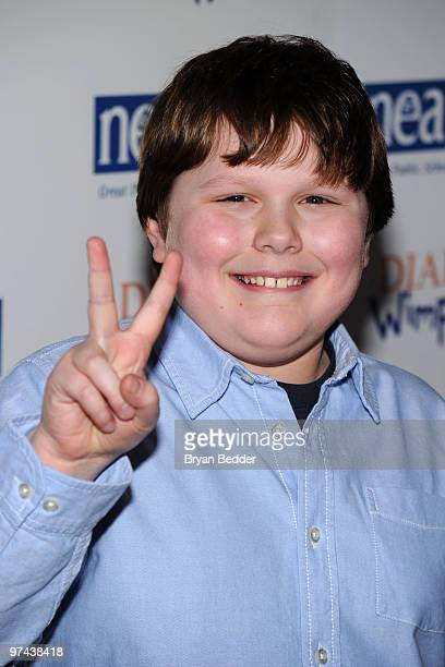 Actor Robert Capron attends the premiere of Diary Of A Wimpy Kid at the Ziegfeld Theatre on March 4 2010 in New York City