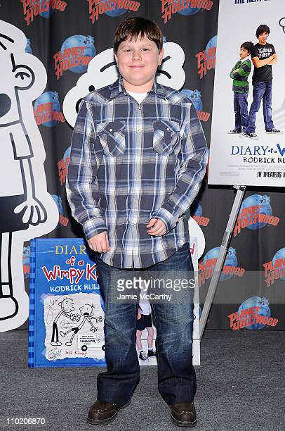 Actor Robert Capron visits Planet Hollywood Times Square on March 16, 2011 in New York City.
