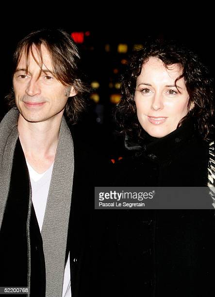 Actor Robert Carlyle and wife Anastasia Shirley arrive for 'The Mighty Celt' Premiere at the Zoo Palast Theatre during the 55th annual Berlinale...