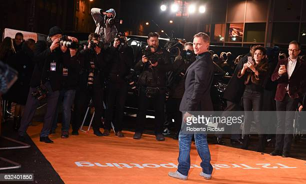 Actor Robert Carlyle attends the World Premiere of T2 Trainspotting at Cineworld on January 22, 2017 in Edinburgh, United Kingdom.