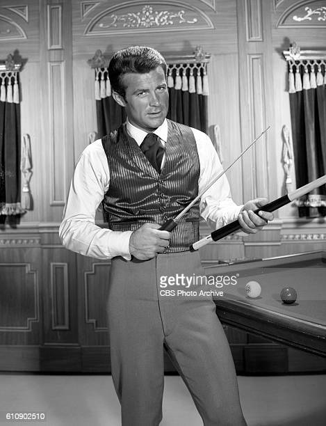 Actor Robert Conrad portrays James T West in the CBS television show The Wild Wild West Image dated April 22 1965 Hollywood CA