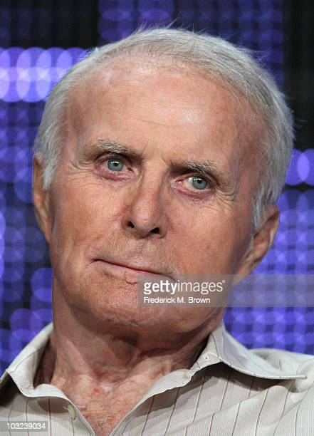 Actor Robert Conrad the television show Pioneers of Television speaks during the PBS portion of the 2010 Summer TCA Press Tour at the Beverly Hilton...