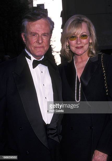 "Actor Robert Culp and Candace Faulkner attend ""NBC's 75th Anniversary Special"" on May 5, 2002 at Rockefeller Center in New York City, New York."