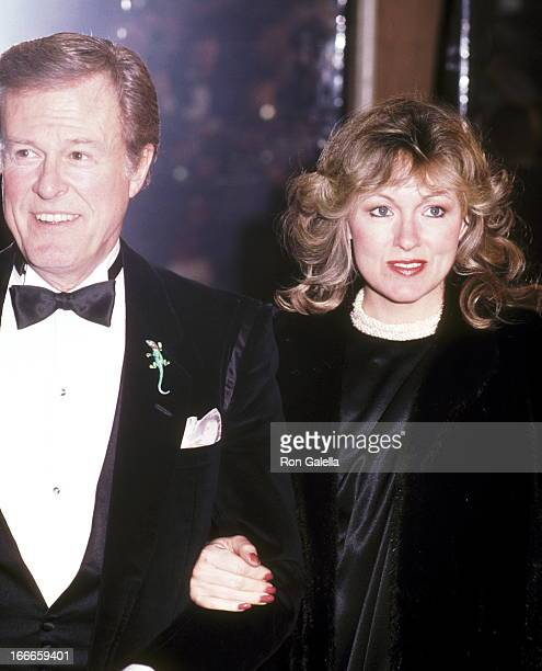 Actor Robert Culp and Candace Faulkner attend the 11th Annual American Film Institute Lifetime Achievement Award Salute to John Huston on March 3...