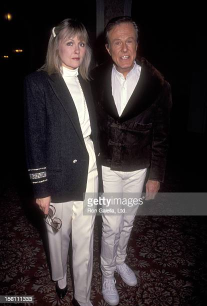 Actor Robert Culp and Candace Faulkner attend the 'Celebrity Sports Invitational' on January 10, 1991 at Fairmont Banff Springs Resort in Banff,...