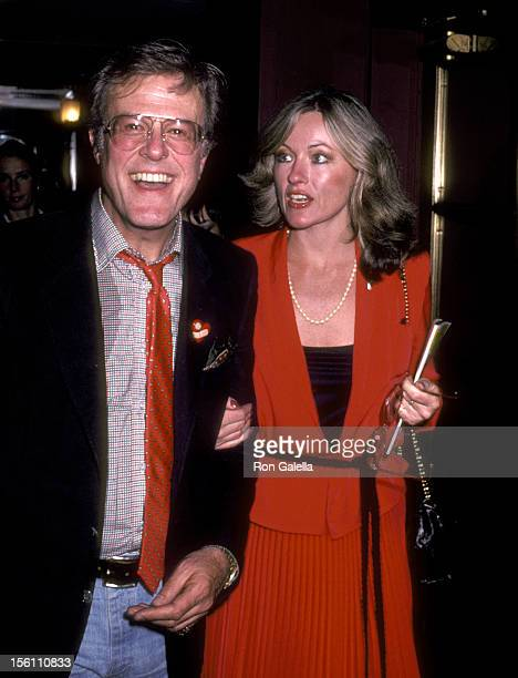 Actor Robert Culp and Candace Faulkner attend the 'Lena Horne: The Lady and Her Music' Broadway Performance on June 2, 1981 at Nederlander Theatre in...