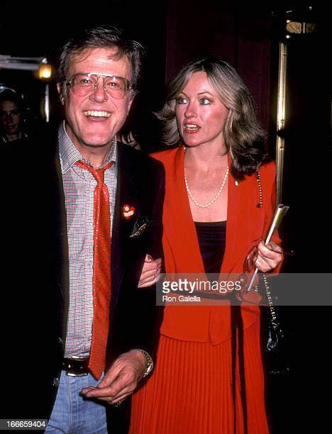 Actor Robert Culp and Candace Faulkner attend the Lena Horne The Lady and Her Music Broadway Performance on June 2 1981 at Nederlander Theatre in New...