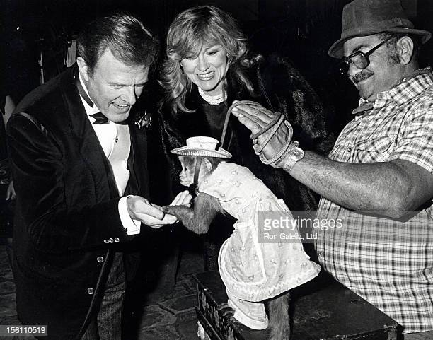 Actor Robert Culp and wife Candace Faulkner attending 'Hathaway House Fundraising Benefit' on April 23, 1983 at the Riveria Country Club in Los...