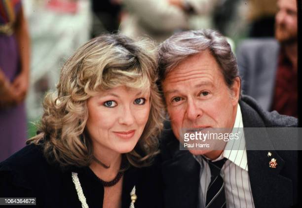 Actor Robert Culp and wife Candace Faulkner attending the 11th Annual Alan King Pro-Celebrity Tennis Classic Party' on April 23, 1982 at Caesars...