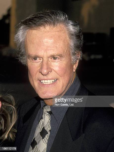 Actor Robert Culp attends the 'Cocktail Party To Kick Off Encore Media's Thematic Multiplex' on July 7 1994 at Universal Studios in Universal City...