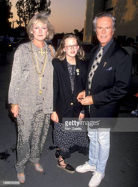 "Actor Robert Culp, Candace Faulkner, and daughter Samantha Culp attend the ""Cocktail Party To Kick Off Encore Media's Thematic Multiplex"" on July 7,..."